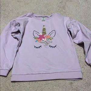 Lavender Unicorn Sweatshirt